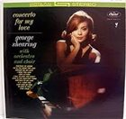 GEORGE SHEARING Concerto For My Love album cover