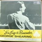 GEORGE SHEARING It's Easy To Remember album cover