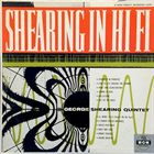 GEORGE SHEARING Shearing In Hi Fi album cover