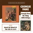 GEORGIE FAME Georgie Does His Thing With Strings / Knock On Wood E.P. / The CBS A's and B's album cover