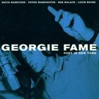 GEORGIE FAME Poet in New York album cover