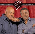 GERALD ALBRIGHT 24/7 (with  Norman Brown) album cover