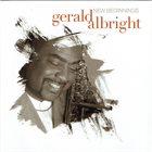GERALD ALBRIGHT New Beginnings album cover