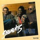 GERI ALLEN Segments album cover