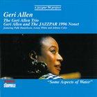 GERI ALLEN Some Aspects of Water album cover