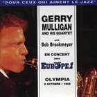 GERRY MULLIGAN En Concert Avec Europe 1 - Olympia 6 Octobre • 1962 album cover