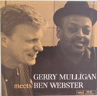 GERRY MULLIGAN Gerry Mulligan Meets Ben Webster album cover