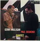 GERRY MULLIGAN Gerry Mulligan Paul Desmond Quartet (aka Blues In Time) album cover