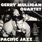 GERRY MULLIGAN Gerry Mulligan Quartet (aka Gerry Mulligan Quartet  Volume 1 aka The Gerry Mulligan Quartet Vol. 2) album cover
