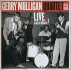 GERRY MULLIGAN Live In California! album cover