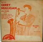 GERRY MULLIGAN Mulligan's Too album cover