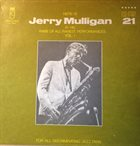 GERRY MULLIGAN Here Is Jerry Mulligan At His Rare Of All Rarest Performances Vol. 1 (aka New-York December 1960) album cover