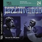 GIANNI BASSO Gianni Basso – Guy Lafitte : Jazz Live Trio With Guests album cover