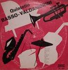 GIANNI BASSO Quintetto Basso Valdambrini album cover