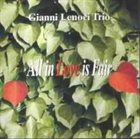 GIANNI LENOCI All In Love Is Fair album cover