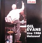 GIL EVANS Live 1986 - Unissued album cover
