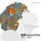 GILBERTO GIL Gil Favourites 1967-1977 album cover