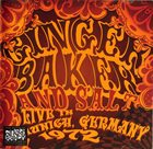 GINGER BAKER Live In Munich Germany 1972 album cover