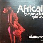 GIORGIO GASLINI Africa ! Mikrokosmos album cover
