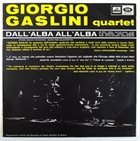 GIORGIO GASLINI Dall'alba all'alba album cover