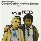 GIORGIO GASLINI Giorgio Gaslini & Anthony Braxton : Four Pieces album cover