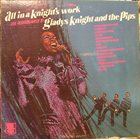 GLADYS KNIGHT Gladys Knight And The Pips ‎: All In A Knight's Work album cover