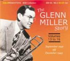 GLENN MILLER The Glenn Miller Story, Volume 13- 16 album cover