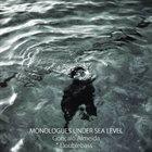 GONÇALO ALMEIDA Monologues Under Sea Level album cover