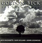 GORDON BECK For Evans Sake album cover