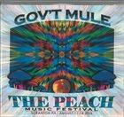 GOV'T MULE Live At 2016 Peach Music Festival album cover