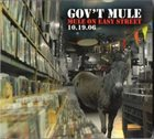 GOV'T MULE Mule On Easy Street 10.19.06 album cover