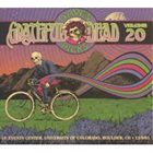 GRATEFUL DEAD Dave's Picks Volume 20: CU Events Center, University of Colorado, Boulder, CO 12/ 9/ 81 album cover