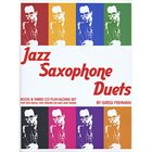 GREG FISHMAN Jazz Saxophone Duets album cover