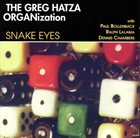 GREG HATZA Snake Eyes album cover