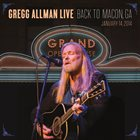GREGG ALLMAN Live: Back To Macon, GA album cover