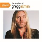 GREGG ALLMAN Playlist: The Very Best Of Gregg Allman album cover