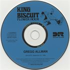 GREGG ALLMAN The King Biscuit Flower Hour Gregg Allman (1988) album cover