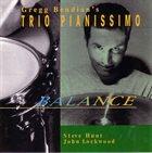 GREGG BENDIAN Gregg Bendian's Trio Pianissimo : Balance album cover