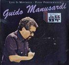 GUIDO MANUSARDI Live in Montreux - Piano Perfomance album cover