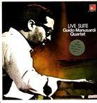 GUIDO MANUSARDI Live Suite (Ljubljana Jazz Festival 1972) album cover