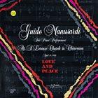 GUIDO MANUSARDI Love And Peace album cover