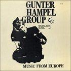 GUNTER HAMPEL Music From Europe album cover