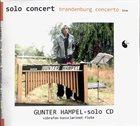 GUNTER HAMPEL Solo Concert - Brandenburg Concerto album cover