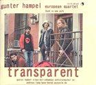 GUNTER HAMPEL Transparent album cover