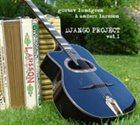 GUSTAV LUNDGREN Gustav Lundgren & Anders Larsson : Django Project vol 1 album cover