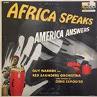 GUY WARREN Africa Speaks America Answers album cover