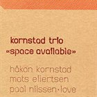 HÅKON KORNSTAD Space Available album cover