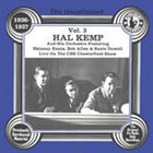 HAL KEMP The Uncollected Hal Kemp And His Orchestra Vol. 3. album cover
