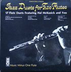 HAL MCKUSICK 17 Jazz Duets For Two Flutes album cover