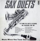 HAL MCKUSICK Sax Duets album cover
